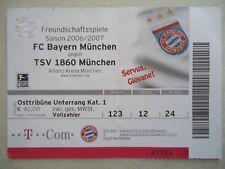 Bayern München TICKET Friendly 3.9.2015 SSV Jahn Regensburg