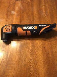 WORX WX682L 20V Oscillating Tool MISSING CHRGER