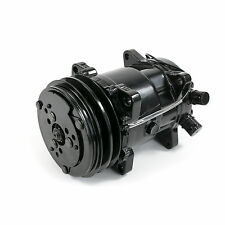 Air Conditioning A/C Compressor V-Belt Sanden 508 Style Clutch All Black R-134A