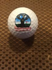 LOGO GOLF BALL-THE NIGHTMARE GOLF COURSE...MICHIGAN