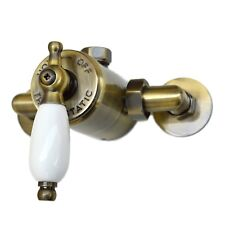 ENKI Thermostatic Sequential Shower Valve Traditional Exposed Bronze WINCHESTER