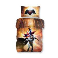 COPRIPIUMINO BATMAN SUPERMAN SINGOLO DISNEY CALEFFI 100%25 COTONE DIGITALE SCONTO