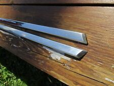 1968-69-70 AMC AMX Javelin Pair of door stainless trim moldings Left+Right