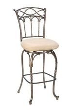 Hillsdale 4708-831 Kendall Bar Stool with Memory Swivel - Fawn Faux Suede NEW