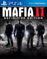 MAFIA II: Definitive Edition PS4 [Digital Download Secundaria] Multilanguage