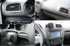 Carbonfolie passend für VW Golf 6 GTI GTD R Cockpit Mittelkonsole Carbon Folie