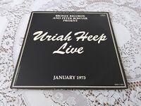 URIAH HEEP. LIVE. 2 LPS GATEFOLD. BOOKLET. MERCURY. SRM-2-7503. 1973.