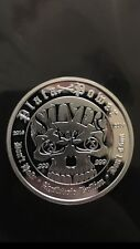 1 oz .999 silver proof Punisher Skull Memento Mori limited with Low COA, boxed