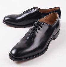 NIB $650 CHURCH'S Black Bookbinder Leather Wholecut Balmoral 9 D Shoes