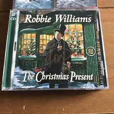 Robbie Williams - The Christmas Present  CD Signed Cd  & Tapes Set