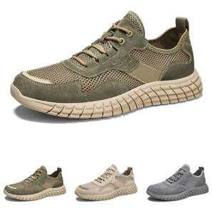 Mens Leisure Sneakers Shoes Trainer Sports Outdoor Running Sports Gym Non-slip L