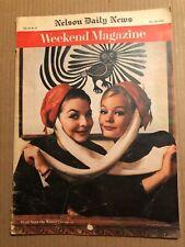 MAGAZINE ARTICLE: WEEKEND MAGAZINE, THESE WERE MY GREATEST GREY CUP THRILLS 1962