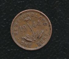 NEW FOUNDLAND 1 CENTS 1944