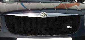 Chrysler Crossfire - Upper Grill - Black finish (2004 to 2008)