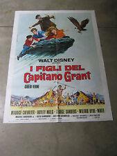 I FIGLI DEL CAPITANO GRANT WALT DISNEY GIULIO VERNE manifesto,chevaliers,sanders
