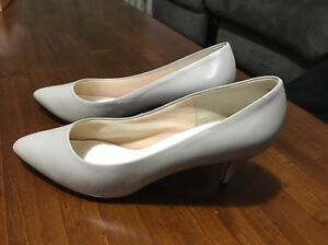 Women's SANDLER 'Skye' Leather Shoe, Cloud, Size 9.5b Ex Cond