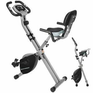 Velo Appartement Pliable Ecran LCD Fitness Exercice Sport Cardio Gym Exercice