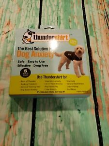Thundershirt Best Solution for Dog Anxiety Solid Gray Small