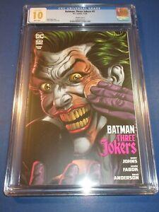 Batman Three Jokers #2 Make-up Variant CGC 10 Gem Mint Gorgeous Gem Wow not 9.8