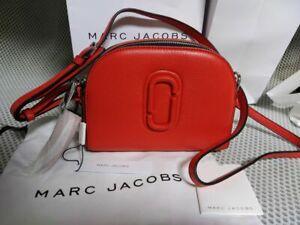 NWT Genuine Marc Jacobs red Shutter Clutch Camera Crossbody bag handbag sales
