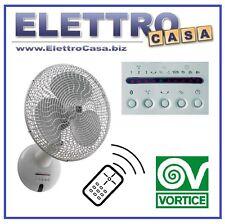 Ventilatore a Parete VORTICE con Telecomando SILENZIOSO da Muro Soffitto 3 Pale