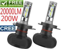 CREE 200W 20000LM LED Headlight Kit Light Bulb Lamp H11 H7 9005 H4 H1 9006 6000K