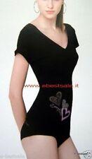 Denny Rose maxi maglia nera t-shirt D493C Tag. M