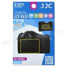 JJC 2KITS Camera LCD Screen Protector Guard Film for Sony RX10 IV RX III RX II