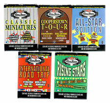 2002 Fleer BOX SCORE set. The complete set w/all SPs and the Classic Minatures