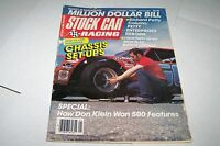 JAN 1986 STOCK CAR RACING vintage car magazine JACK JOHNSON