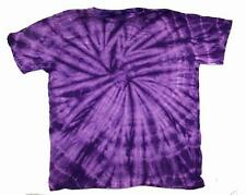 PETITE PURPLE SPIDER TYE DYED TEE SHIRT unisex MEDIUM hippie tie dye PET11 new