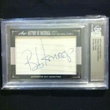 2012 Leaf Cut Signature History Of Baseball Bobby Knoop All-Star 1966