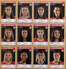 12 AK SC Potsdam Volleyball Frauen Autogrammkarten 2019-20 original signiert