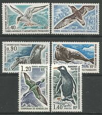 FRENCH SOUTHERN ANTARCTIC. 1977. Birds Set. SG: 98/103. Mint Never Hinged.