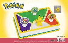 POKEMON PIKACHU CAKE Party Cake Topper Birthday Favors Cupcake Decoration Figure