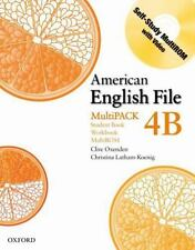 American English File Level 4: Student Book/Workbook Multipack B-ExLibrary