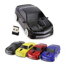 Chevrolet Camaro car Wireless mouse 2.4Ghz USB Optical Laptop PC Game Mice LED B