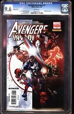 Avengers Invaders 7 CGC 9.6 Variant Dynamic Forces Captain America Spider-Man