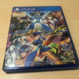 PS4 Rockman X Anniversary Collection 1 + 2 from Japan 4976219094115