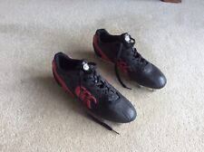 Men's, Canterbury, Phoenix Club, black & red rugby boots / shoes (9) (new)