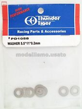 Thunder Tiger PD1058 Rondelle 5.5x11x0.2mm (10) Washer modélisme