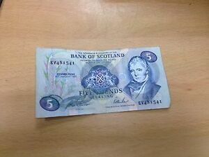 Paper Five Pound Notes Rarest. See Full Details First