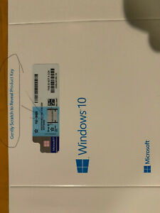 WINDOWS 10 PRO FULL VERSION 64/32 BIT DVD + GENUINE PRODUCT KEY