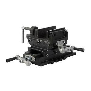 "EX-RETURN Pillar Press Drill Bench Cross Sliding Milling Workshop Vice 3"""