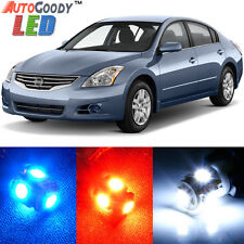12 x Premium Xenon White LED Lights Interior Package for Nissan Altima 2007-2014