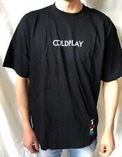 Coldplay T-Shirt Ufficiale (XL) Originale Nuovo Merchandise Alternative Rock 01I
