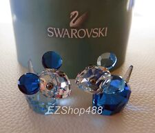 Swarovski Crystal Figurine #5004630 Pioneer Bobby & Pierre pair of mice New/Box