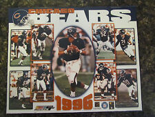 CHICAGO BEARS 1996 PHOTO FILE PLAYERS 8 X 10 PLAQUE