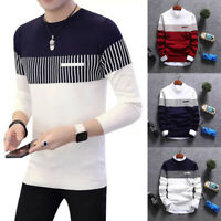 Fashion Men Cardigan Jacket Jumper Top Knit Pullover Coat Long Sleeve Sweater