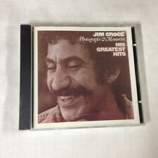 Jim Croce - Photographs & Memories (His Greatest Hits) [CD] 1985 7-90467-2 atco